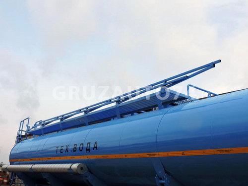Полуприцеп-цистерна ППЦ-20 для воды