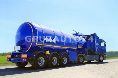 Полуприцеп-цистерна ППЦ-28 (битумовоз) для темных нефтепродуктов