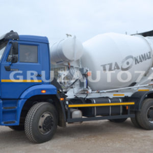 Автобетоносмеситель 58145W на шасси КамАЗ 53605-23 (-19)