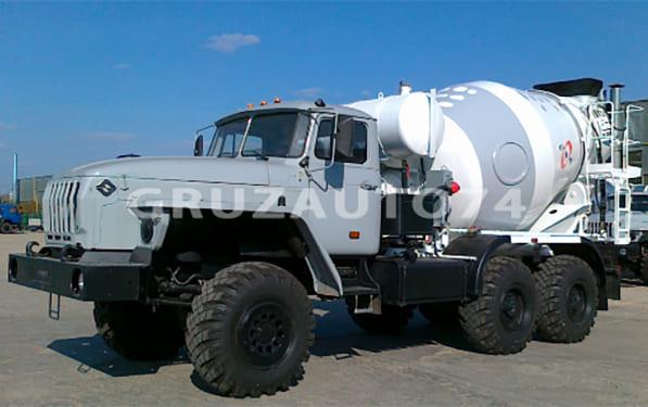 Автобетоносмеситель 58145Y на шасси Урал 55571-60 (-70)