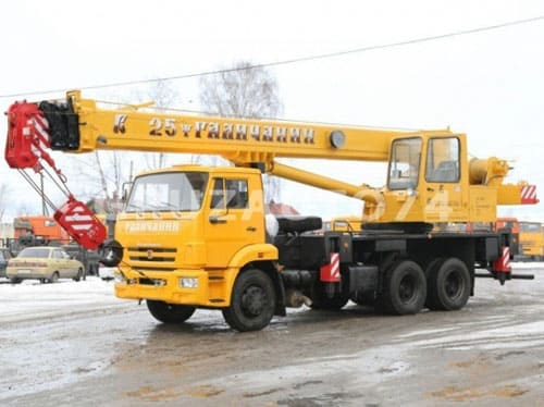 Автокран КC-55713-1 на КамАЗ 65115 «Галичанин» стрела 21,7 м