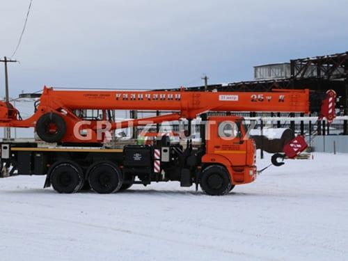 Автокран КС-55713-1В-4 на КамАЗ 65115 «Галичанин» стрела 31 м ОВОИД