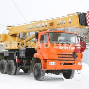 Автокран КС-55713-4 на КамАЗ 65111 «Галичанин» стрела 21,7 м