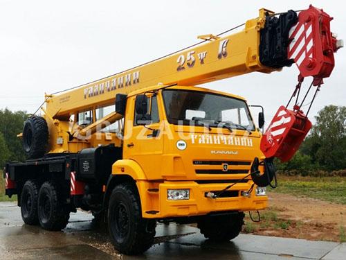 Автокран КС-55713-5 на КамАЗ 43118 «Галичанин» стрела 21,7 м