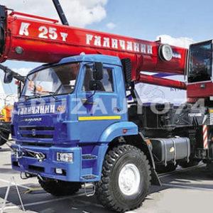 Автокран КС-55731-4 на КамАЗ 65222 «Галичанин» стрела 40 м ОВОИД
