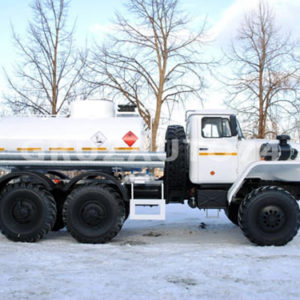 Автотопливозаправщик АТЗ-5 на шасси Урал-4320