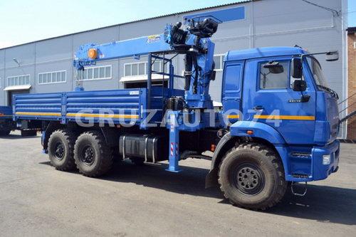 Бортовой автомобиль Камаз 43118 с КМУ DongYang