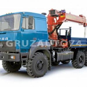 Бортовой автомобиль Урал 4320 (бескапотный) с КМУ ИНМАН