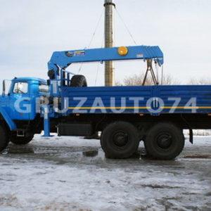 Бортовой автомобиль Урал 4320 с КМУ DongYang