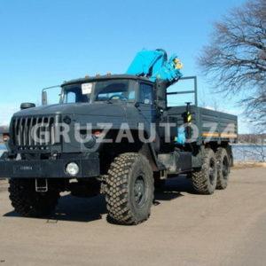 Бортовой автомобиль Урал 4320 с КМУ ИНМАН