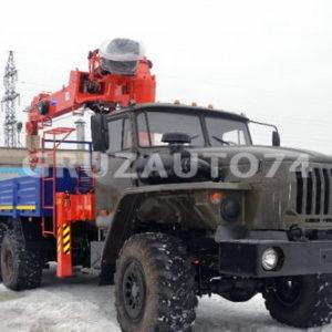 Бортовой автомобиль Урал 4320 с КМУ Kanglim