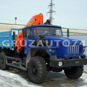 Бортовой автомобиль Урал 4320 с КМУ Palfinger