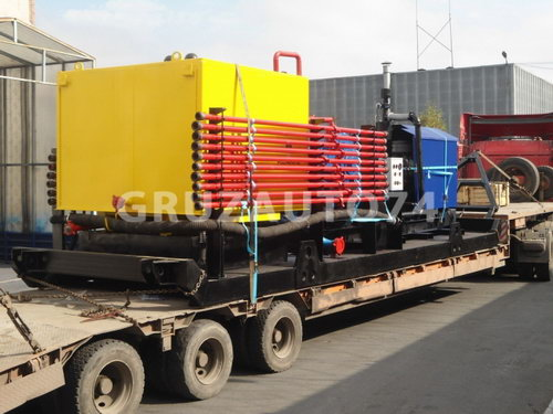 Цементировочный агрегат УНБР-125/-160 (Санный ход)