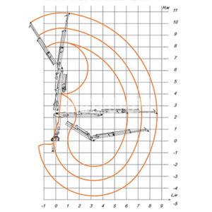 Гидроманипулятор ОМТЛ-97