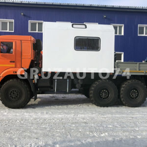 Грузопассажирский автомобиль КАМАЗ 43118 с КМУ Инман