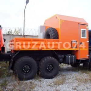 Грузопассажирский автомобиль КАМАЗ 43118 с КМУ Palfinger