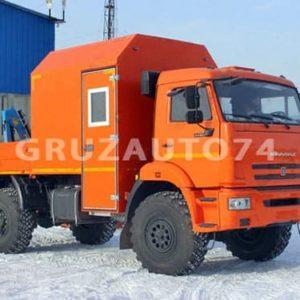Грузопассажирский автомобиль КАМАЗ 43502 с КМУ Инман