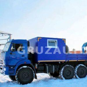 Грузопассажирский автомобиль КАМАЗ 5350 с КМУ Инман