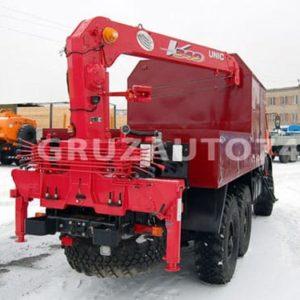 Грузопассажирский автомобиль КАМАЗ 43118 с КМУ UNIC