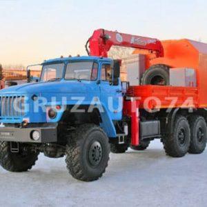 Грузопассажирский автомобиль Урал 4320 с КМУ UNIC