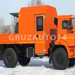 Грузопассажирский автомобиль на шасси КамАЗ 43502-45