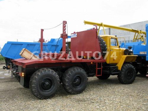 Лесовозный тягач Урал 55571-60/-70/-72 (59602C)