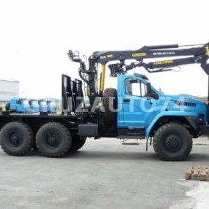 Лесовозный тягач Урал-NEXT 55571(5557)-6112-72/-74 с манипулятором (59604T)