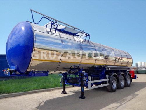 Полуприцеп-цистерна ППЦ-30 (битумовоз) для темных нефтепродуктов