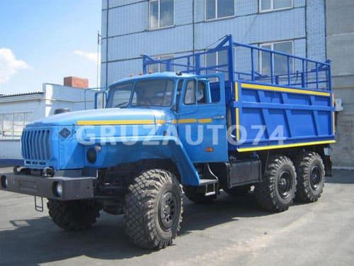 Самосвал УРАЛ 55571-1121-60/-70/-72 с боковой разгрузкой (58312C)