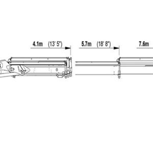 Крановая манипуляторная установка КМУ Palfinger PK 8500 Perfomance