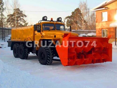 Шнекороторный снегоочиститель ДЭ-226 на базе Урал 4320