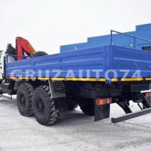 Бортовой автомобиль Урал NEXT с КМУ Palfinger