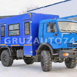 Вахтовый автобус 10 мест на шасси КАМАЗ 43502-45