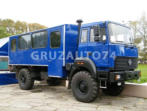 Вахтовый автобус 14 мест на шасси Урал 32552-3020-79МП17