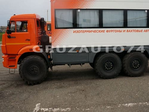 Вахтовый автобус 16 мест на шасси КАМАЗ 5350-42 (НЕФАЗ 4208-34)