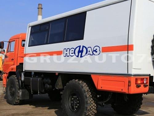 Вахтовый автобус 18 мест на шасси КАМАЗ 43502-45 (НЕФАЗ 42111)
