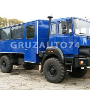 Вахтовый автобус 20 мест на шасси Урал 32552-3013-79М