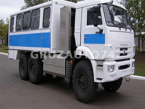 Вахтовый автобус 22 места на шасси КАМАЗ 43114-30 (НЕФАЗ 4208-41)