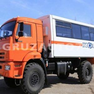 Вахтовый автобус 22 места на шасси КАМАЗ 43502-45 (НЕФАЗ 42111-24)