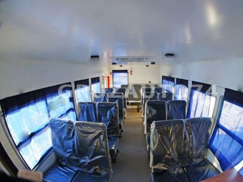 Вахтовый автобус 22 места на шасси КамАЗ 43118-3027-46