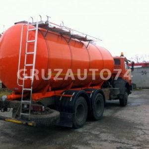 АЦ-14 (битумовоз) на шасси КАМАЗ 65115 для темных нефтепродуктов