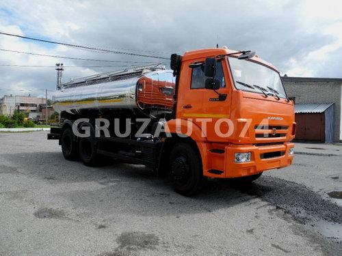 Автоцистерна для питьевой воды АЦПТ-12 на шасси КАМАЗ-65115