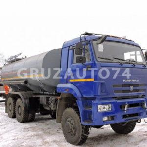 Автоцистерна для питьевой воды АЦПТ-15 на шасси КАМАЗ-65115