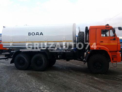 Автоцистерна для питьевой воды АЦПТ-17 на шасси КАМАЗ-65224