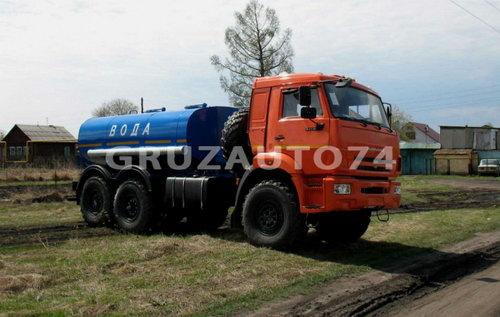 Автоцистерна для питьевой воды АЦПТ- 6 на шасси КАМАЗ-43118