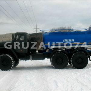 Автоцистерна для питьевой воды АЦПТ- 6,5 на шасси Урал-5557