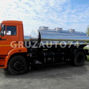 Автоцистерна для питьевой воды АЦПТ- 7,5 на шасси КАМАЗ-43253