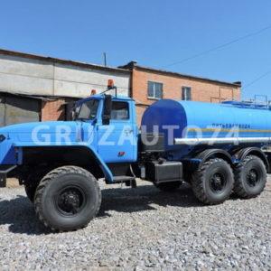 Автоцистерна для питьевой воды АЦПТ- 8 на шасси Урал-5557