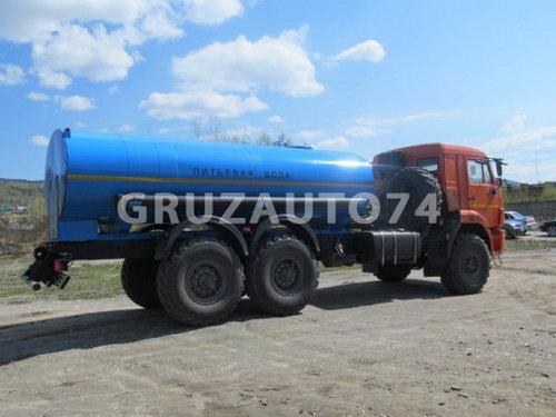Автоцистерна для питьевой воды АЦПТ- 9,5 на шасси КАМАЗ-43118