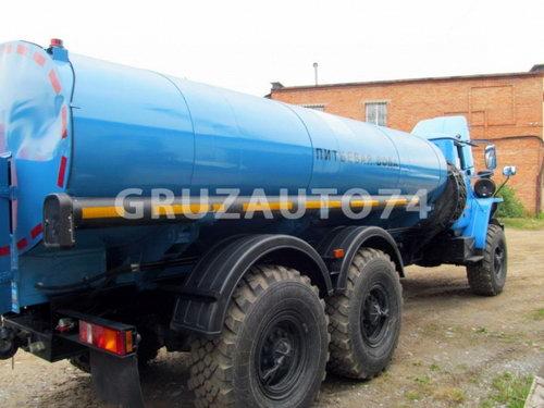 Автоцистерна для питьевой воды АЦПТ- 9,5 на шасси Урал-4320